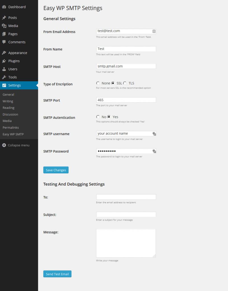 Easy WP SMTP-一款简单好用的WordPress SMTP邮件发送插件