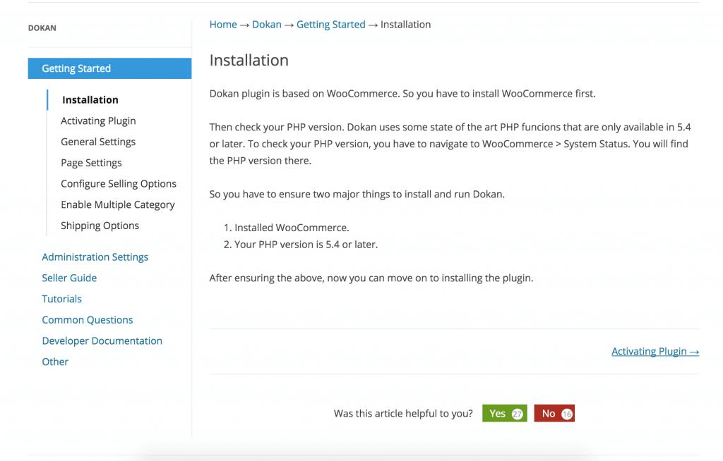 weDocs——WordPress帮助文档插件